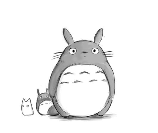 可爱的龙猫宝宝