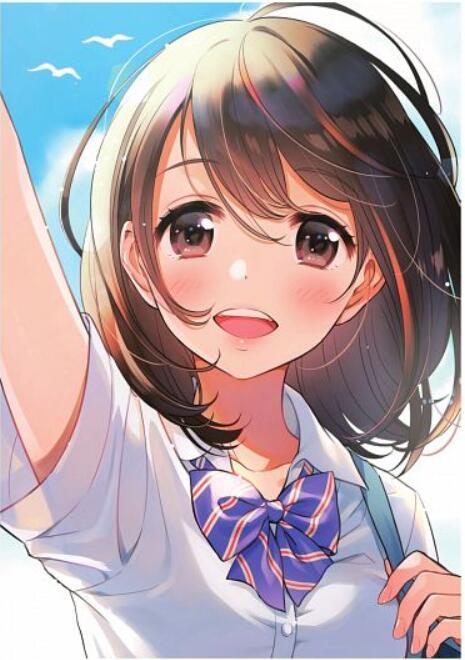 Morikura En二次元美少女插画-19