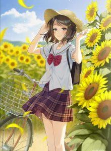 Morikura En二次元美少女插画-18