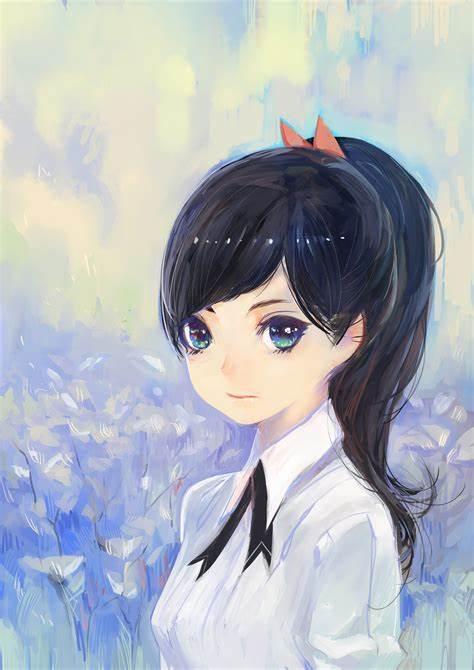 Morikura En二次元美少女插画-14