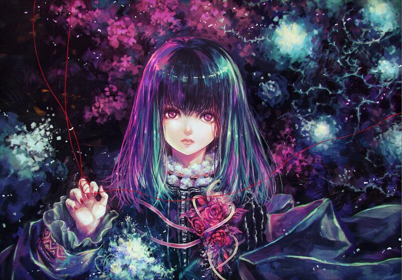 Morikura En二次元美少女插画-6