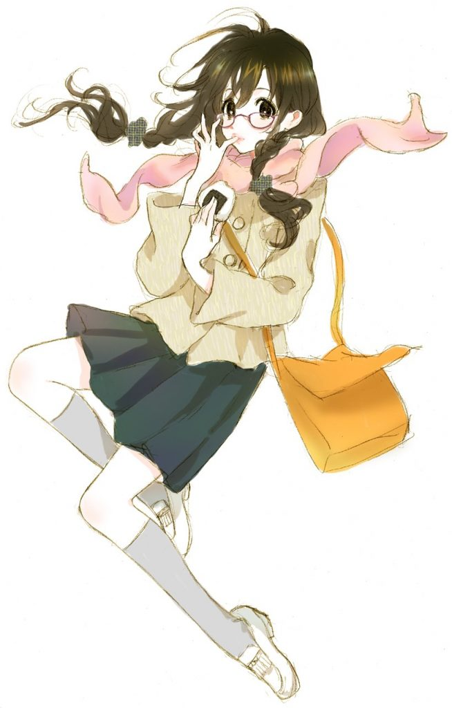 Morikura En二次元美少女插画-27