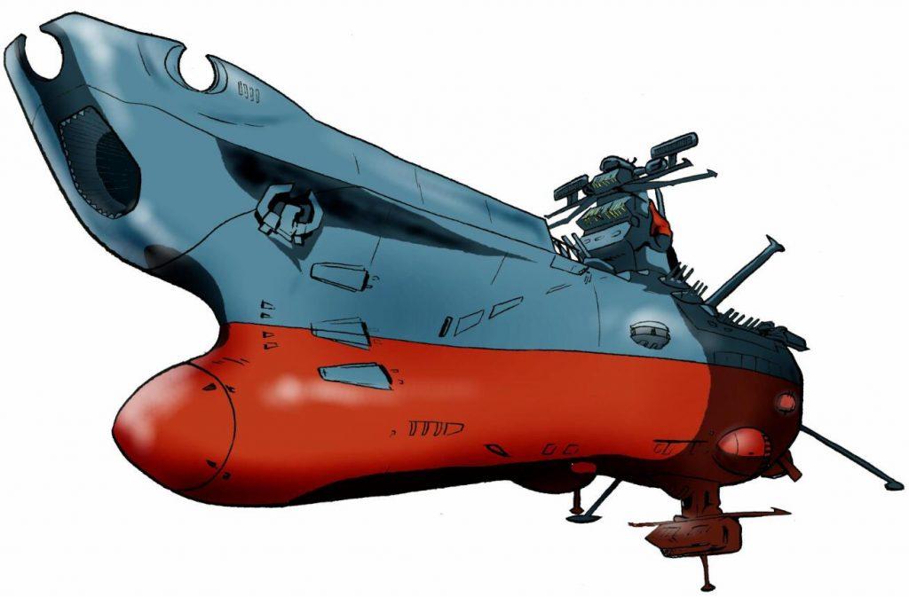 著名日本动画作品《宇宙战舰大和号》卡通图片-5