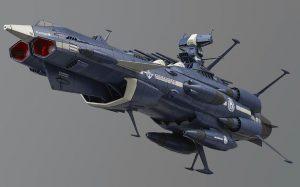 著名日本动画作品《宇宙战舰大和号》卡通图片-7