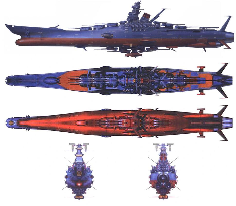 著名日本动画作品《宇宙战舰大和号》卡通图片-9