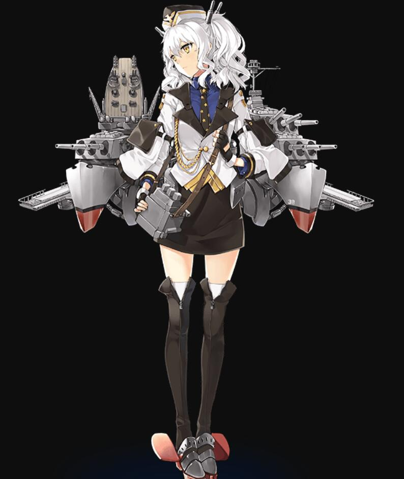 【战舰少女】唯美黑底个人-23