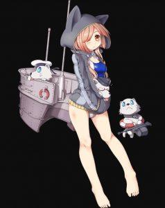【战舰少女】唯美黑底个人-5