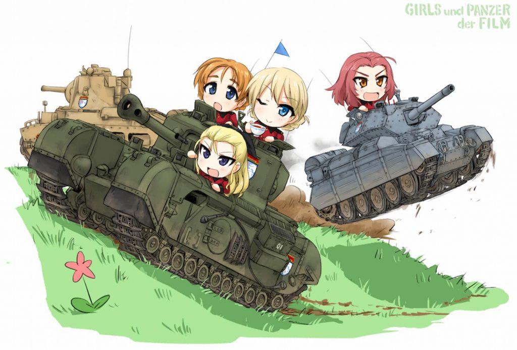 《少女与战车》历史卡图-8