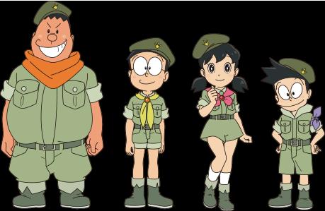 哆啦A梦大雄的新恐龙-可爱卡通头像