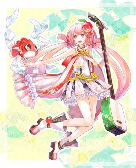 【魔法少女】插画-1