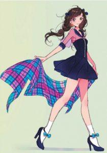Morikura En二次元美少女插画-16
