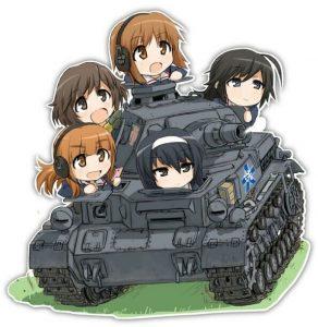 《少女与战车》历史卡图-3
